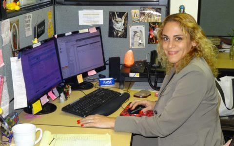 Sandra V @ Work